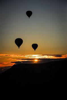 Balloons at Dawn by Alex Brûlé