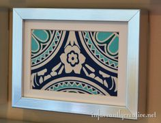 framed-fabric