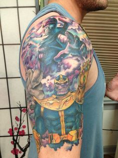 Fantastic Marvel Tattoos With Thanos, Wolverine And More!