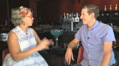 "Interview with @OrlandoSentinel #RetroRad chef and @FoodNetwork regular Emily Ellyn joins Orlando Sentinel reporter Jon Busdeker at Kings Bowling for a few frames of bowling. Ellyn has appeared on ""Food Network Star,"" ""Cupcake Wars,"" and ""Cutthroat Kitchen."""