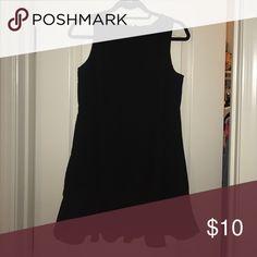Forever 21 black mini dress Black sleeveless party dress with a wavy bottom Forever 21 Dresses Mini