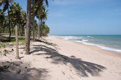 Beach at Busca Vida - Bahia State
