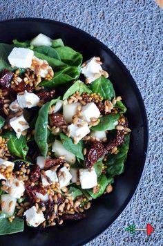 Healthy Cooking, Healthy Snacks, Healthy Eating, Cooking Recipes, Healthy Protein, Ensalada Thai, Feta, Vegetarian Recipes, Healthy Recipes