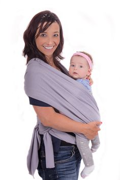 758e0a8760e Buy smile-best Baby wrap sling carrier w  Original cloth bag-Natural  Cotton-soft Safe and Comfortable- Easy To use- lightweight -Suitable for  Newborns to 35 ...