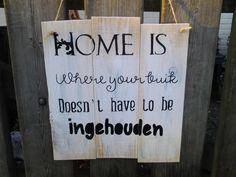 Home is....van pallethout