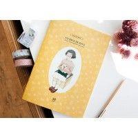 Iconic // Ashley Notebook // Ivory | The Journal Shop