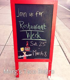 Margs Taco Bistro - stop in for Restaurant Week #lodo