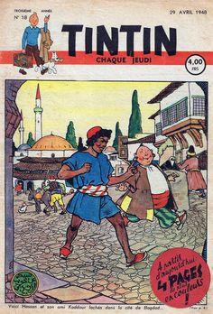 Le Journal de Tintin - Edition Belge - N° 84 - 1948-18 - Jeudi 29 Avril 1948 - Couverture : Jacques Laudy