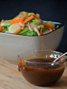 Homemade Teriyaki Sauce mixes up amazingly quickly, with only a few ingredients.