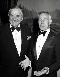 'The Tonight Show'Ed McMahon and Johnny Carson February 1982