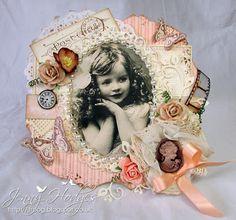 handmade card, cameo, roses, vintage, Hobby House