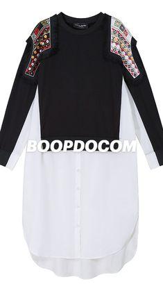 Sweatshirt Dress, Crew Neck Sweatshirt, Sweater Refashion, Sweatshirts Online, Spring Collection, Gowns, Unisex, Cotton, Dresses