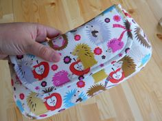 Classic Clutch Hedgehogs and Love by lenalimestudio on Etsy