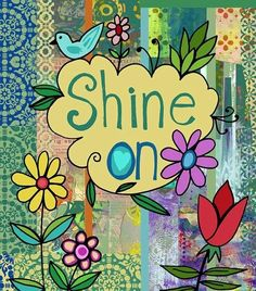 Shine on quote via Carol's Country Sunshine on Facebook
