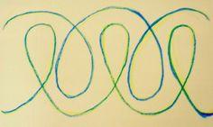Waldorf ~ 2nd grade ~ Form Drawing ~ main lesson book