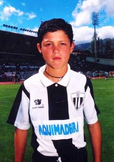 A very young Cristiano Ronaldo . Cristiano Ronaldo 7, Jacqueline Bisset, Donald Sutherland, Hugh Laurie, Phil Collins, Chuck Norris, Arnold Schwarzenegger, Bob Marley, Real Madrid