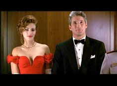 "Julia Roberts & Richard Gere in ""Pretty Woman"". Julia Roberts, Richard Gere, Pretty Woman Film, Moderne Outfits, Kelly Lebrock, Movie Couples, Business Outfit, Celebs, Celebrities"
