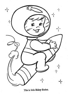 Hi-Flyer Color pg 2 Space Coloring Pages, Pattern Coloring Pages, Cute Coloring Pages, Coloring Pages For Kids, Free Coloring, Coloring Books, Cross Stitch Embroidery, Embroidery Patterns, Quilt Patterns
