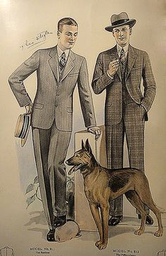 J.L. Taylor Men's Fashion Catalog 1927
