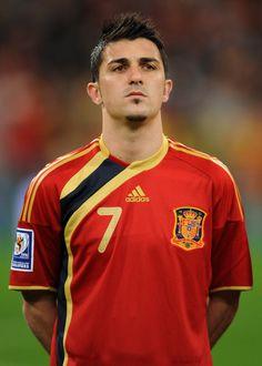 David Villa   name in native country david villa sanchez squad no 7 date of birth 03 ...