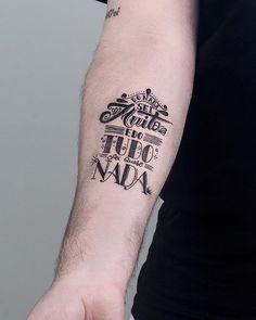 Lettering personalizado desenhado para o @walterfonseca Fazia um tempo q queria fazer um projeto de letras assim, valeu pela escolha Walter #lettering #letteringtattoo #tattoo