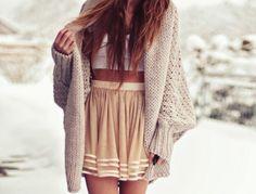 sweater tumblr dress winter autumn