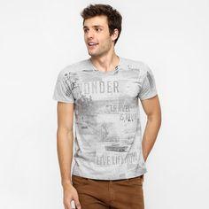 Camiseta Kohmar Travel - Mescla
