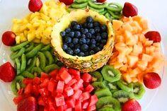 Tábua De Frutas <3 Ideias Saudáveis para decoração De Mesas