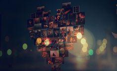 bokeh, heart, light, love, photograph - inspiring picture on Favim.com
