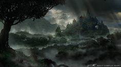 End of Quest scene by Yo-shimizu