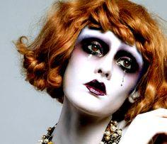Trendy Makeup Ideas: Roshar - Trendige Make-up-Ideen: Roshar - 20s Makeup, Clown Makeup, Glam Makeup, Costume Makeup, Makeup Inspo, Makeup Art, Halloween Makeup, Makeup Inspiration, Beauty Makeup
