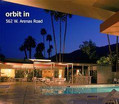 palm springs, CA:: orbit in hotel