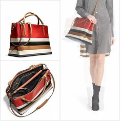 New colorblock Coach bags.