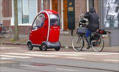 Deze is wel héél klein.. op de Willemsparkweg in Amsterdam..
