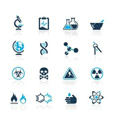 science vector pictograms/icons