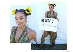 """My style is… provocative."" —Chanta Patton, 25, Raleigh, NC. (Photo: Corey…"