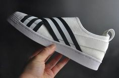 Adidas White Mountaineering Primeknit Superstar Slip-On Shoes - Superstars