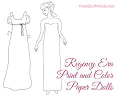 Print and Color Paper Dolls