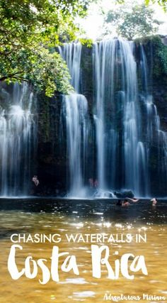 Visiting the most beautiful (and secret) waterfall in Costa Rica.