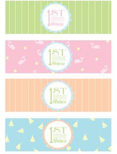 free 1st birthday party printables 3
