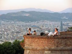 View from Mont Juïc, #Barcelona