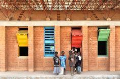 Gando Primary School by Kéré Architecture.