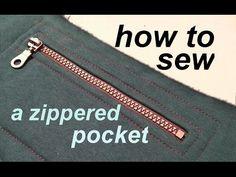 How to sew a V NECK , ESCOTE V , jak uszyć dekolt w serek - YouTube