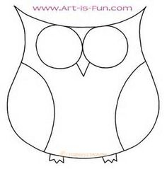 easy to draw owl