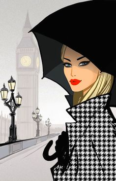 Jason Brooks, peintre et illustrateur de mode londonien