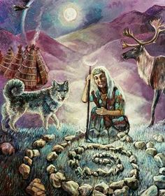 the shamans have a very strong and special connection to mother earth, we call her mother and devote our life to her. Noga Gal