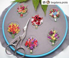 @bogdana.prots #handmadejewelry #handembroidery #ricamo #embroidery #bordado #broderie