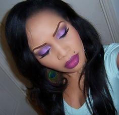 Makeup Tutorials for Black Women | Makeup Tutorial - Christmas 2011