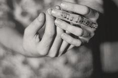 Musical notation on finger #tattoo