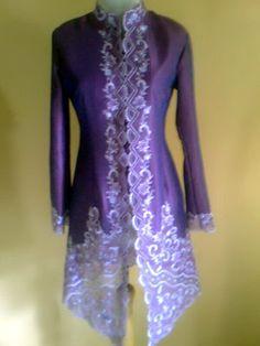 Kebaya Rawsilk Purple